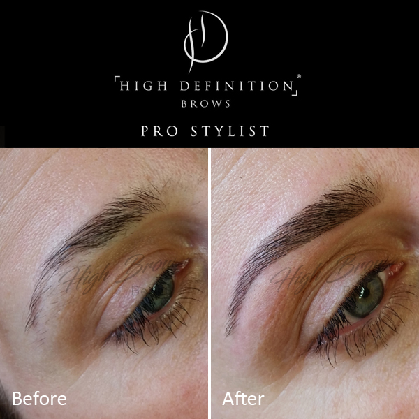 HD Brows: high definition eyebrows - Before & After