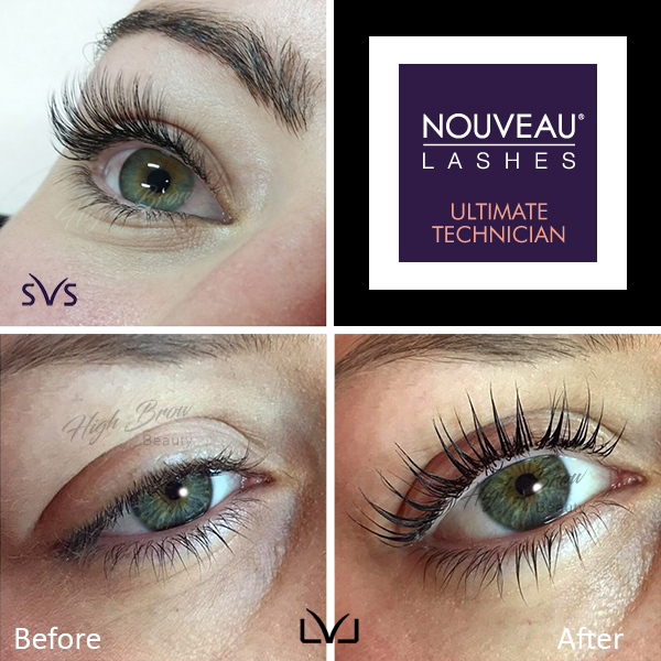 Eyelash extensions, natural volume lash extensions, LVL